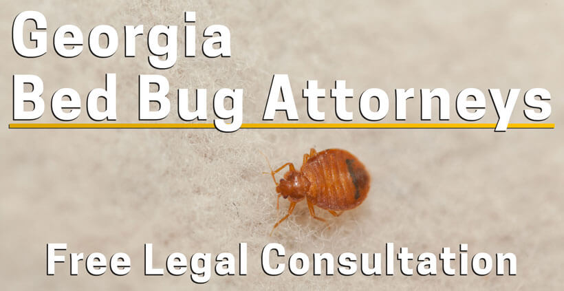 Bed Bug Lawyer Georgia