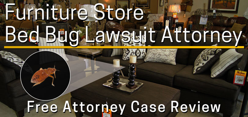 furniture rental store bed bug lawsuit attorney Los Angeles
