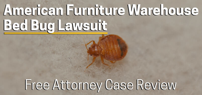 american furniture warehouse bed bug lawsuit