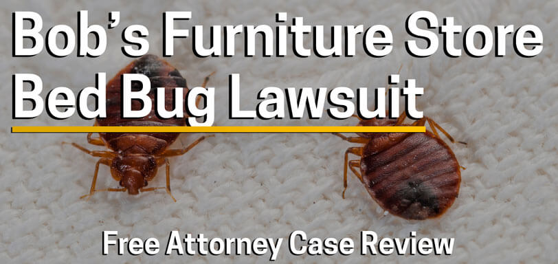 sue bobs furniture store for bed bugs lawsuit