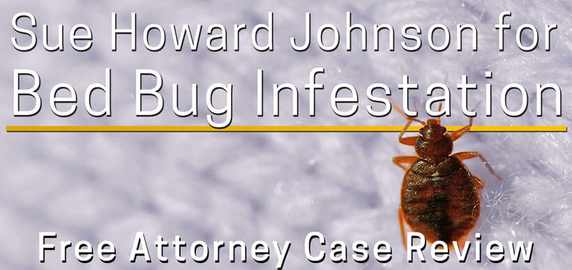 howard johnson bed bug lawsuit attorney