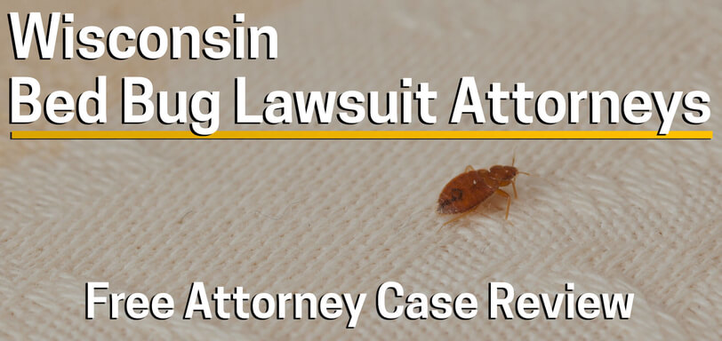 Bed Bug Attorney in Wisconsin - Hotel or Landlord Lawsuit