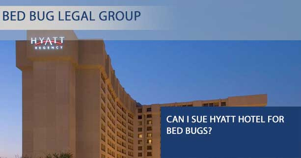 Can I Sue Hyatt Hotel for Bed Bugs?