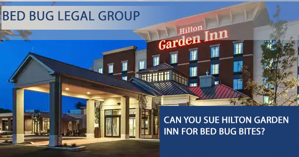 Can I Sue Hilton Garden Inn for Bed Bugs?