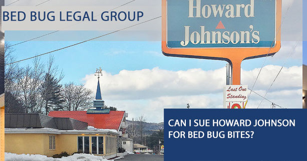 Can I Sue Howard Johnson Hotel for Bed Bugs?