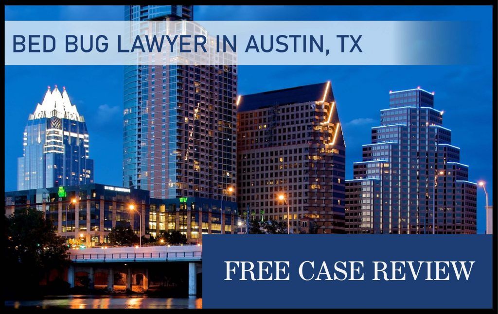 bed bug lawyer austin texas bite infestation attorney sue