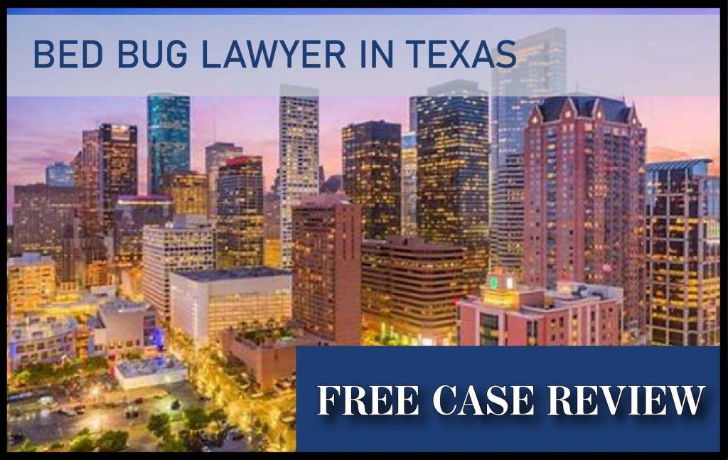 bed bug lawyer in houston texas austin san antonio dallas compensation sue