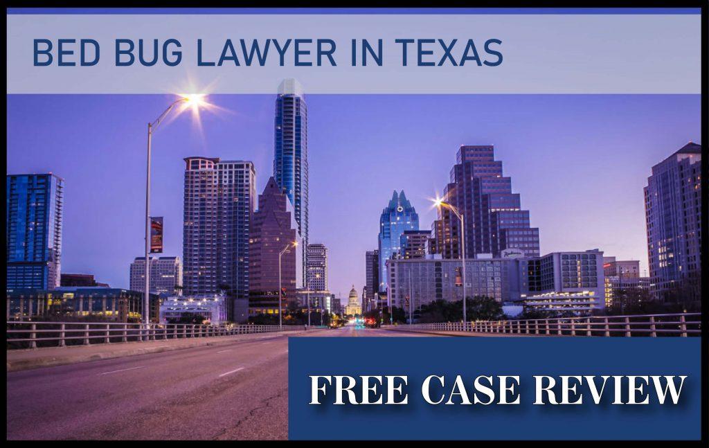 bed bug lawyer in texas san antonio houston dallas austin sue compensation