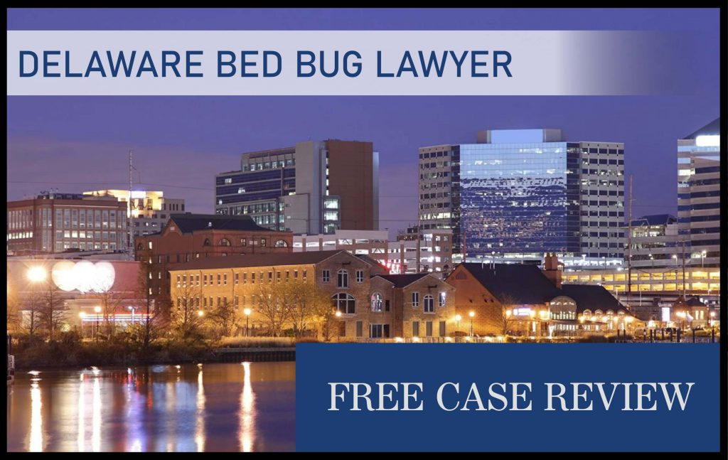 Delaware Bed Bug Laws – Wilmington, Dover, Newark, Middleton, and Bear bed bug lawyer sue compensation