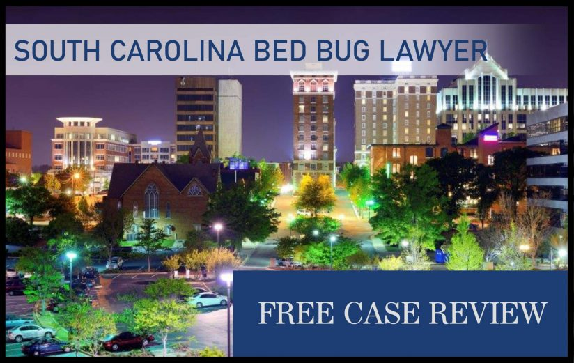 South Carolina Bed Bug Laws—Charleston, Columbia, North Charleston, Mount Pleasant, and Rock Hill lawsuit sue compensation attorney
