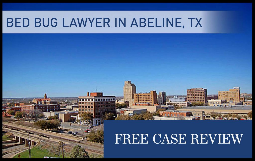 bed bug lawyer in abeline texas attorney sue