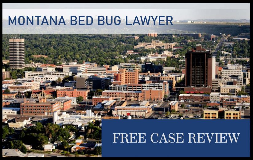 Montana Bed Bug Laws—Billings, Missoula, Great Falls, Bozeman, and Butte attorney lawyer sue infestation