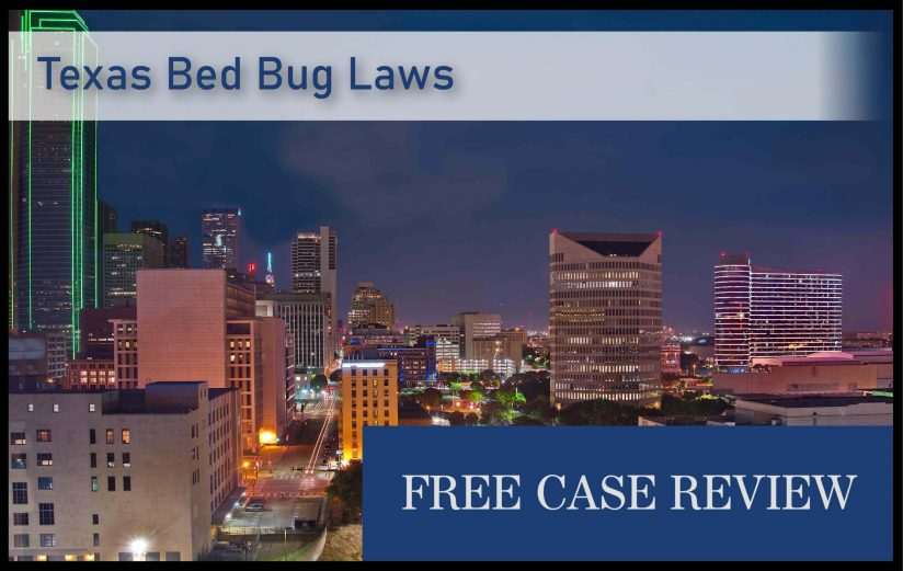 Texas Bed Bug Laws—Houston, San Antonio, Dallas, Austin, Fort Worth, and El Paso - infestation attorney lawyer lawsuit