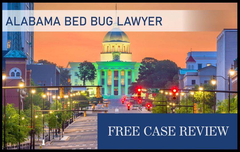 alabama bed bug lawyer infestation sue attorney compensation lawsuit