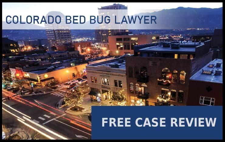 colorado bed bug lawyer sue compensation attorney
