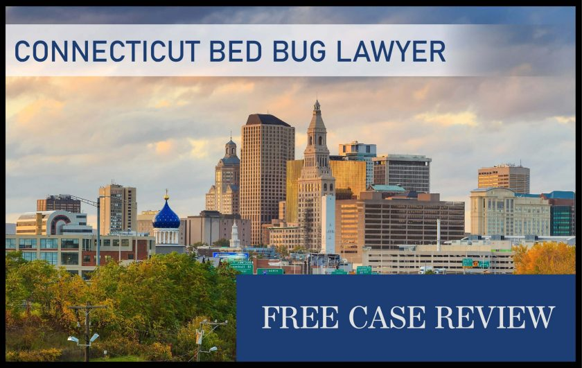 connecticut bed bug infestation lawyer sue compensation attorney