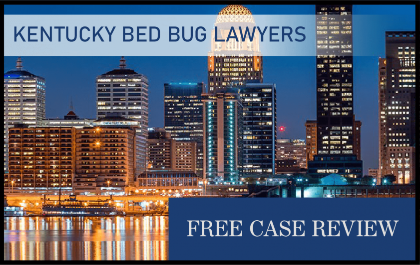 Bed Bug Laws in Kentucky – Lexington-Lafayette, Ironville, Meads, Louisville, and Lexington infestation sue attorney lawsuit lawyer